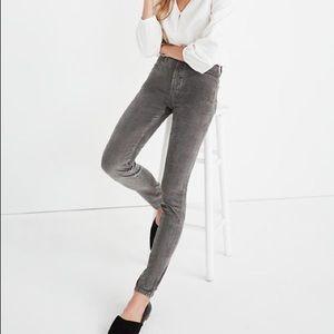 "Madewell Tall 10"" High-Rise Skinny Jeans: Corduroy"